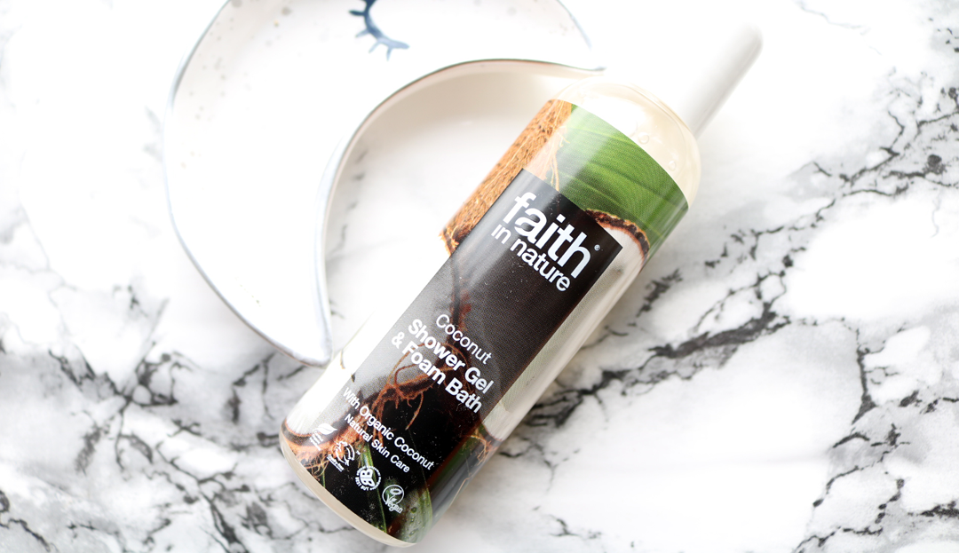 Faith In Nature Shower Gel & Foam Bath in Coconut