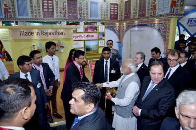 Mumbai, Make in India Week, Prime Minister Narendra Modi, Make in India Center, Rajasthan pavilion