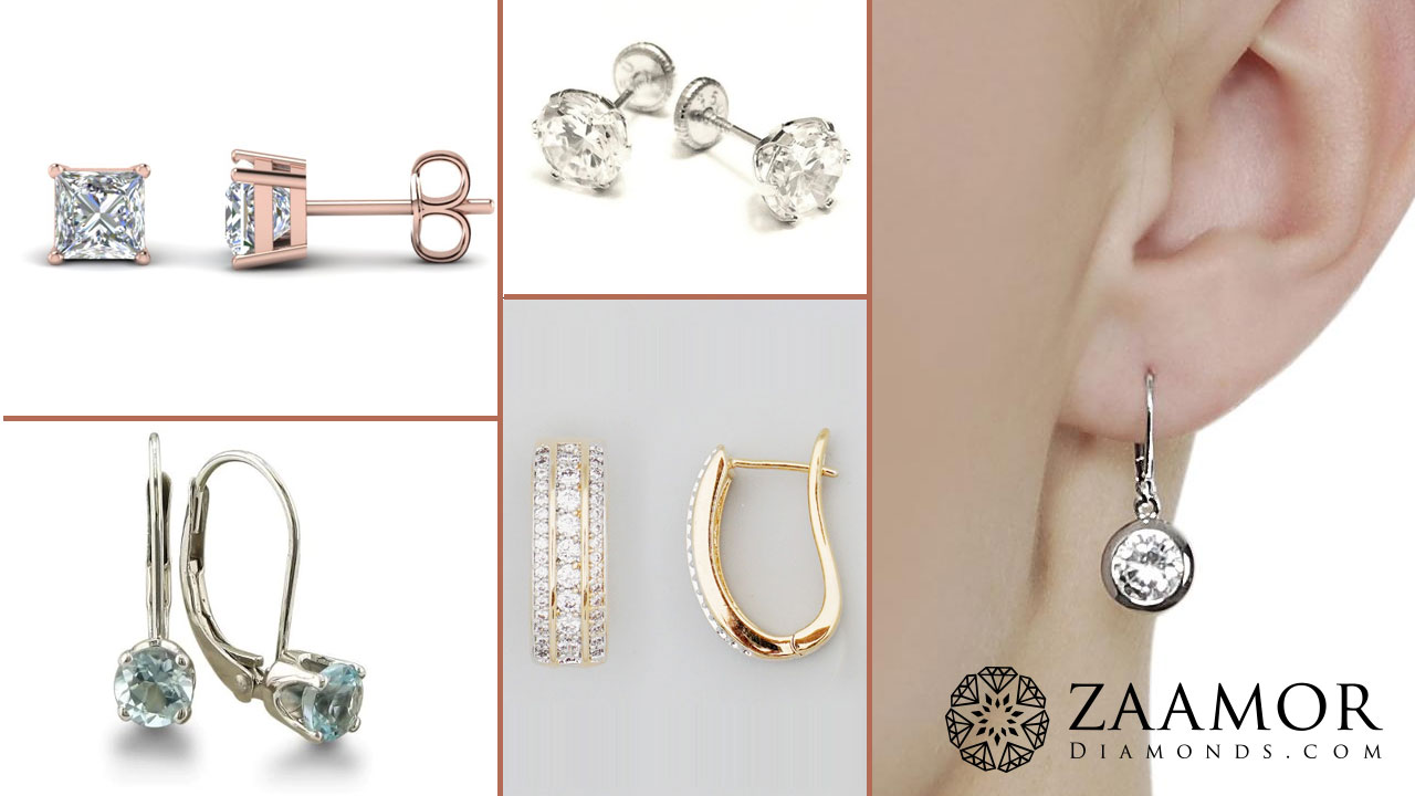Know The Diffe Types Of Earring Clasps