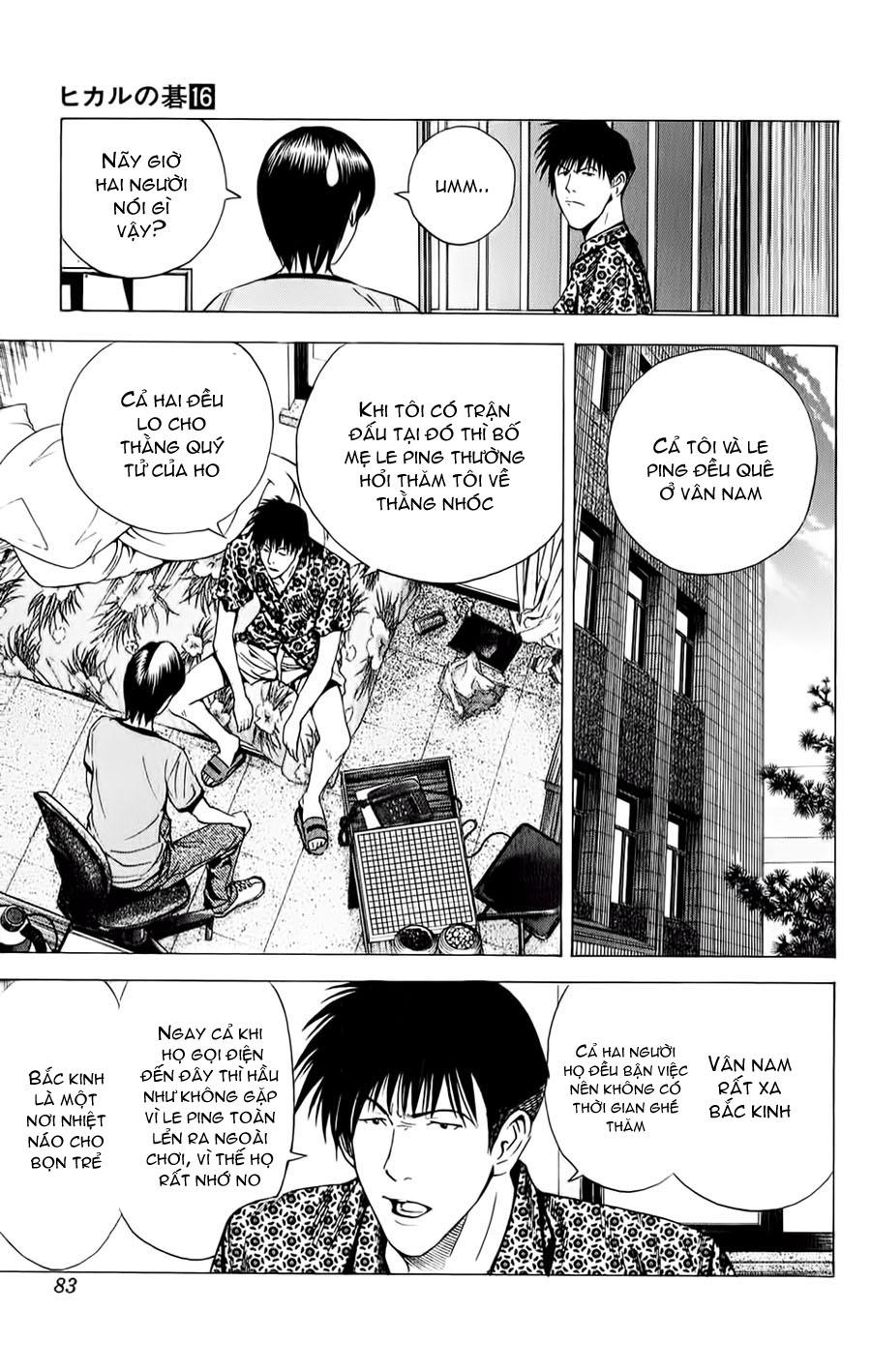 Hikaru No Go hikaru no go chap 134 trang 14
