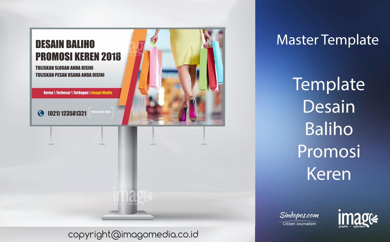 Contoh Desain Baliho Promosi Toko Online Keren Imago Media Home Of Creativity