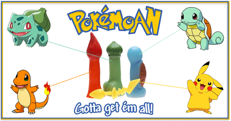 Pokemon sex toys