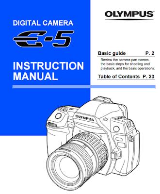 Olympus E-5 User Manual