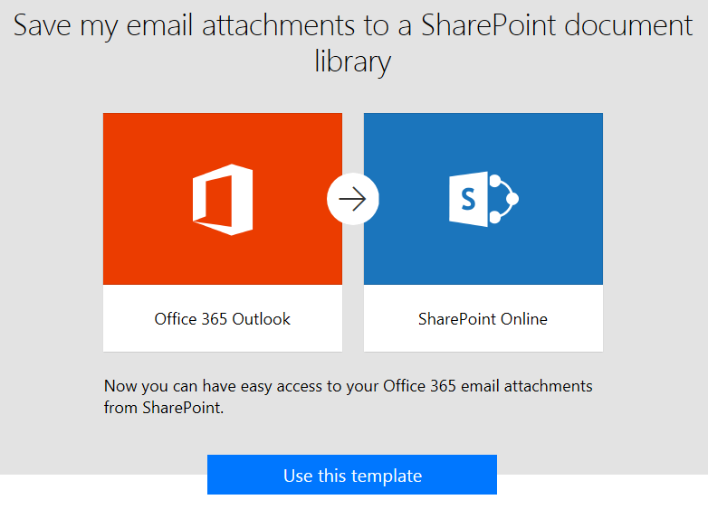 There's Something About SharePoint: Go with Flow: Email