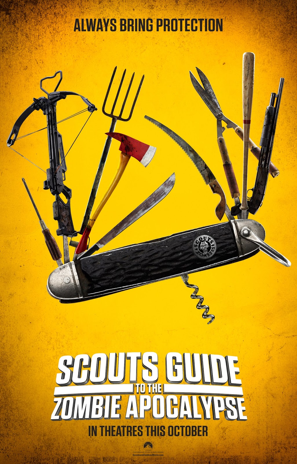 Nonton Film Scouts Guide to the Zombie Apocalypse (2015)