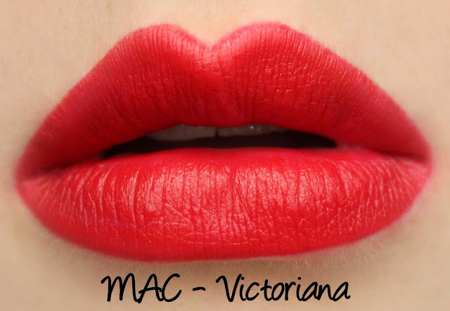 MAC Victoriana Lipstick Swatches & Review