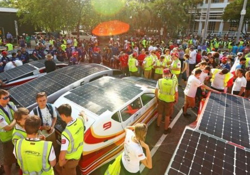 Tinuku 42 teams started World Solar Challenge 2017 across Australian desert