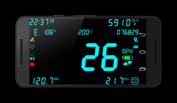 DigiHUD Pro Speedometer v1 1 9 APK [Latest]