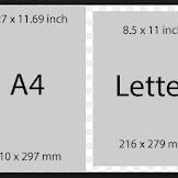 Mengenal Ukuran Kertas Letter