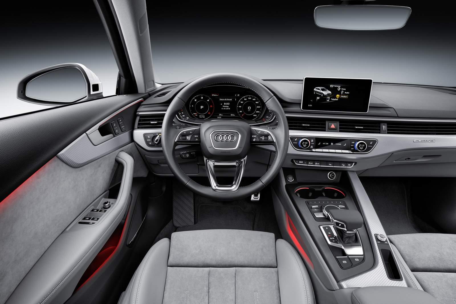 Novo Audi A4 Allroad 2016 - interior