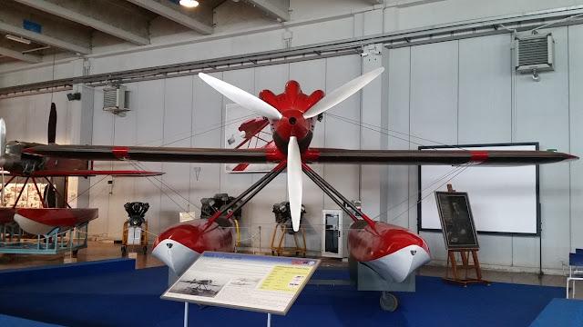 1/144 Macchi M-67 diecast metal aircraft miniature