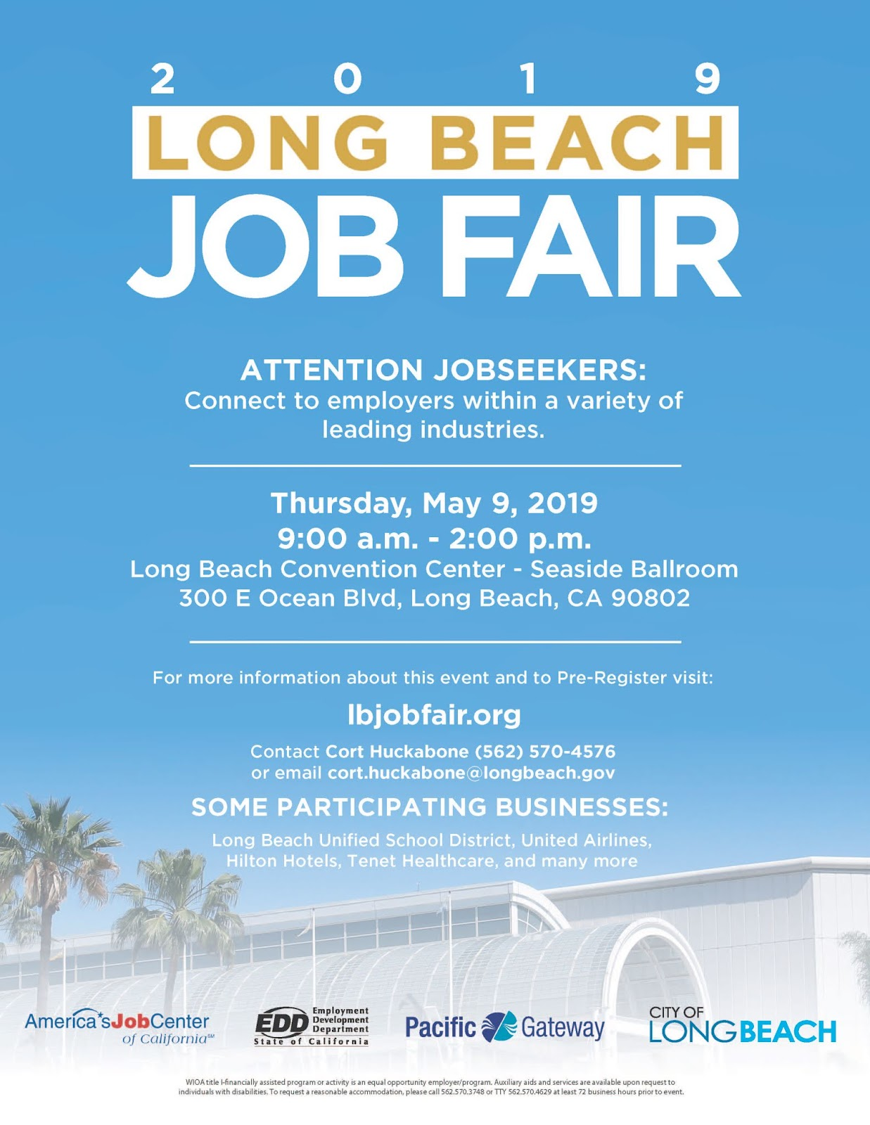Military Civilian Hot Jobs Events And Helpful Information For Veterans Seeking Civilian Careers Long Beach Job Fair May 9 2019 9 A M 2 P M At The Long Beach Convention Center