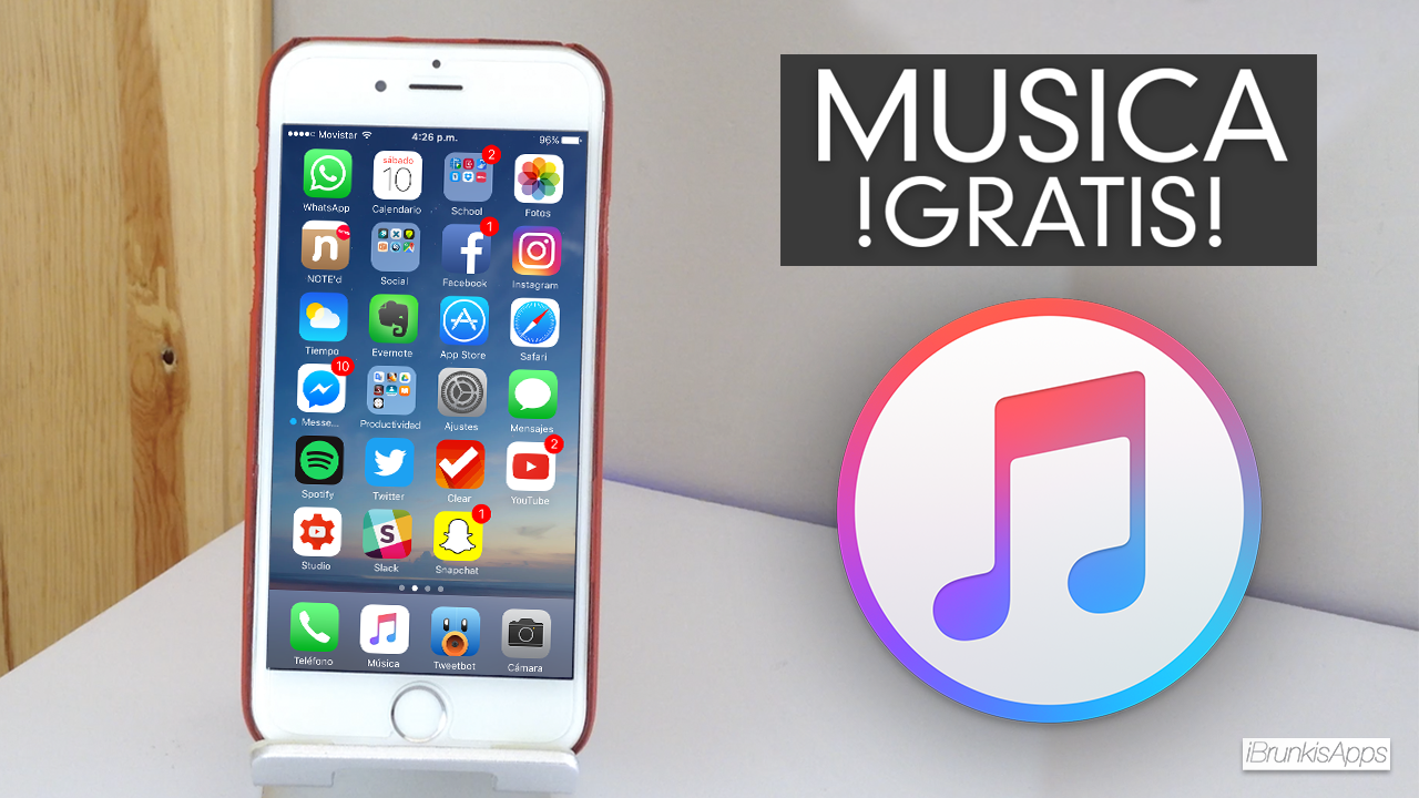 como puedo descargar musica gratis iphone 4