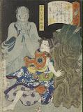 Sheet: Mutsuki Suginosuke Norifusa by Tsukioka Yoshitoshi - Mythology Art Prints from Hermitage Museum