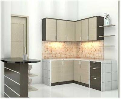 ruang dapur minimalis ukuran 2x3 yang bagus