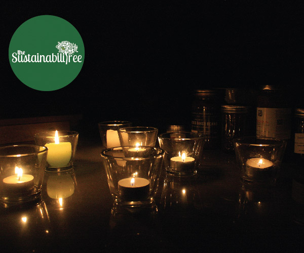 Light some candles and enjoy Earth Hour