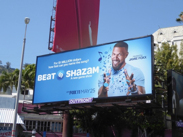 Beat Shazam game show billboard