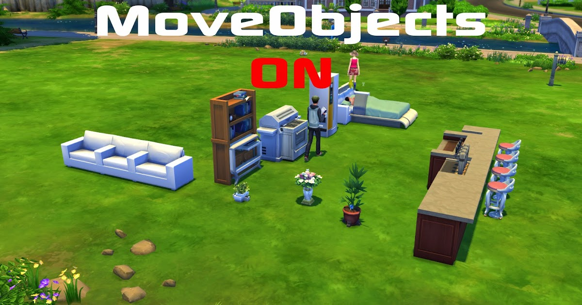 how to add moveobjects on to your the sims 4 how to add script mods. Black Bedroom Furniture Sets. Home Design Ideas
