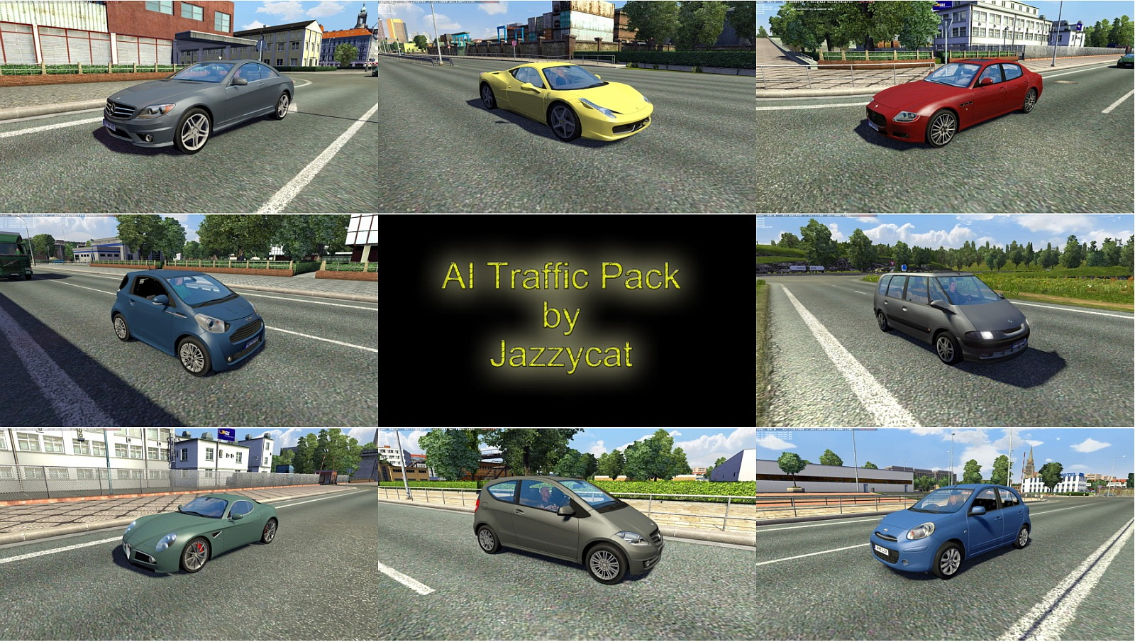 Ai Traffic Pack 2 3 Ets2 Mods