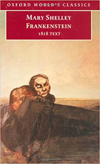 Frankenstein 1818 by Mary Wollstonecraft Shelley