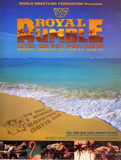 WWF / WWE: Royal Rumble 1995 - Event poster