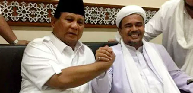 Hasil Pertemuan Koalisi Keumatan, Cawapres Prabowo Apa Kata Habib Rizieq Shihab