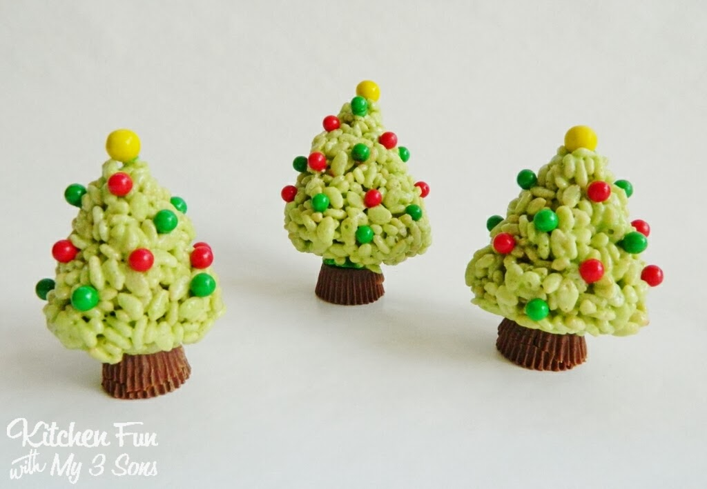 Rice Krispie Treats Christmas Tree.Christmas Key Lime Rice Krispie Treats Trees Kitchen Fun