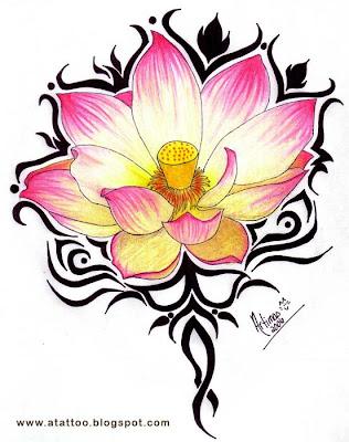 Griffe Tattoo Flor De Lotus Fotos E Ideias Para Tattoo