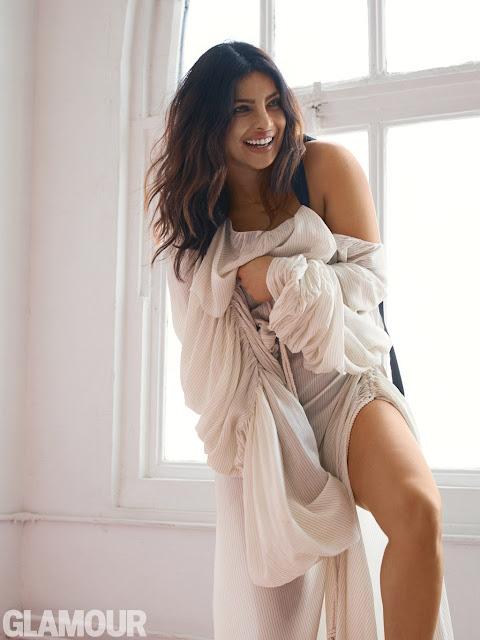 Priyanka Chopra Glamour Magazine Hot Photoshoot 2017