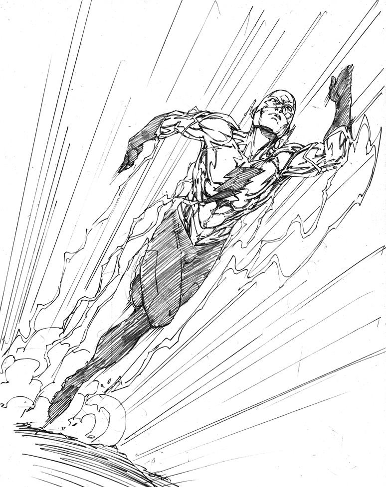 Wally West Coloring Pages - Kidsuki