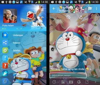 BBM Mod Tema Doraemon v2.11.0.16 Versi Clone