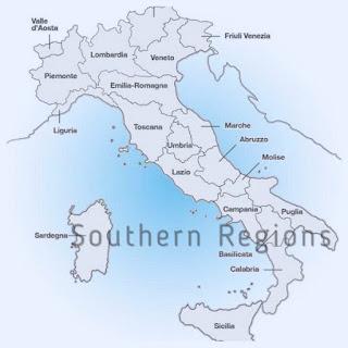 Southern Italian Wine Regions