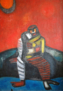 Embracing-couple-t-k-padmini