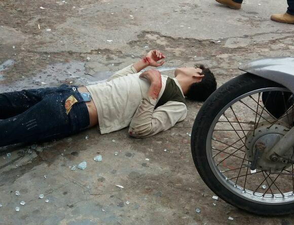 Jovem é baleado durante tentativa de assalto a loja de conveniência em Cruzeiro do Sul