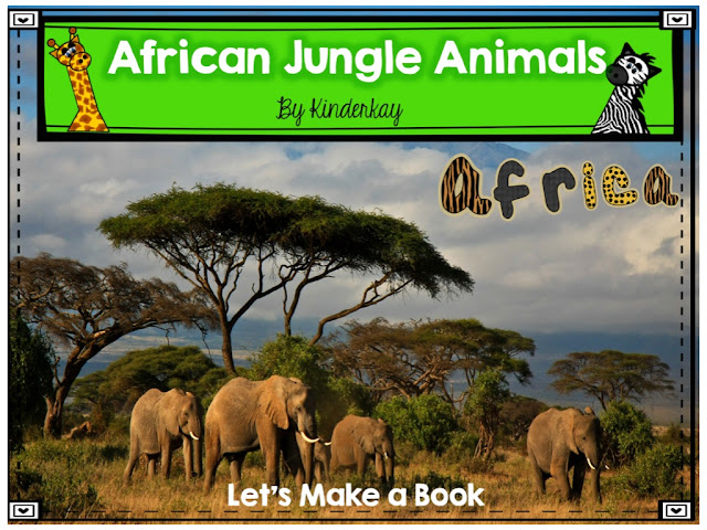 https://www.teacherspayteachers.com/Product/African-Jungle-Animals-Lets-Make-a-Book-137610