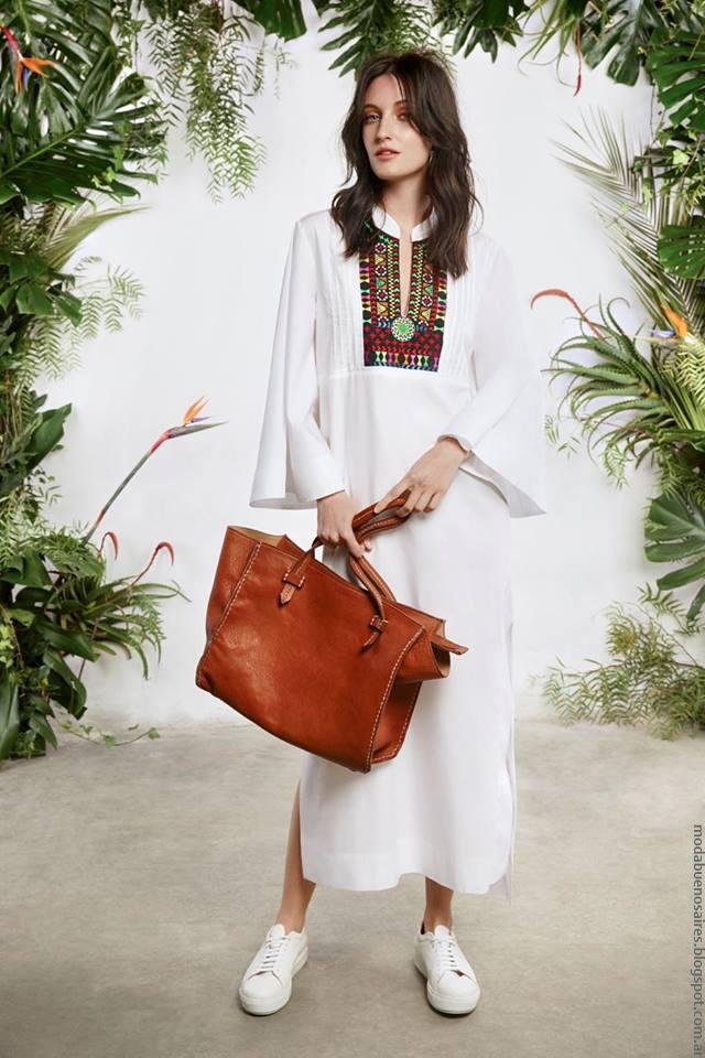 Vestidos primavera verano 2017 ropa María Cher.