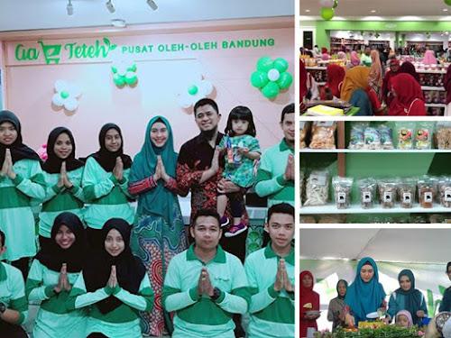 Sentra oleh-oleh Aa Teteh Bandung