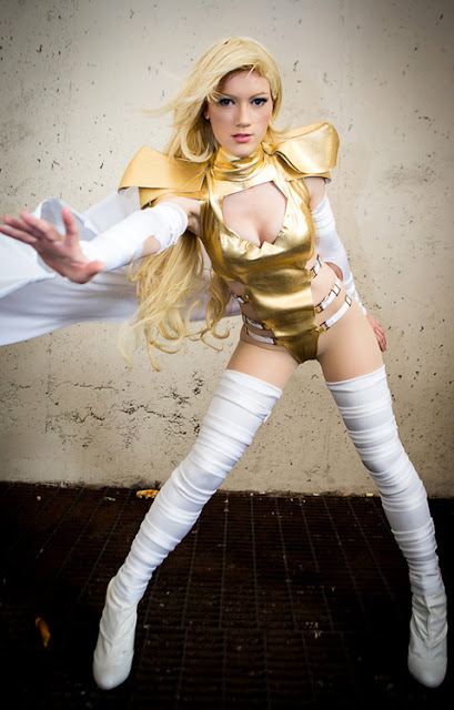 long legged emma frost cosplay