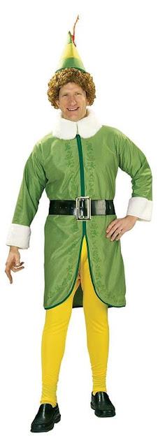 Elf Buddy Adult Costume