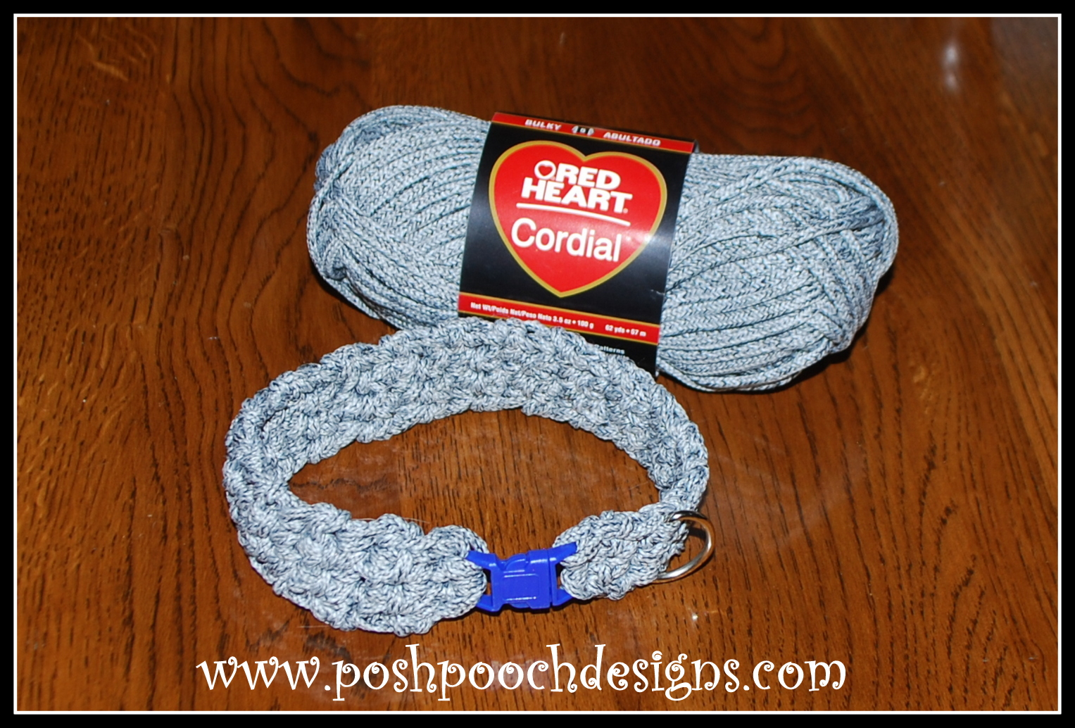 Posh Pooch Designs Dog Clothes: Cord Dog Collar and Leash ...