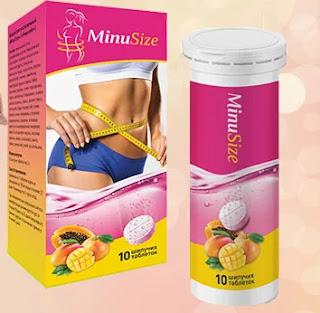 Шипучие таблетки для похудения MinuSize