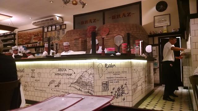 Pizzaria Bráz de Higienópolis São Paulo