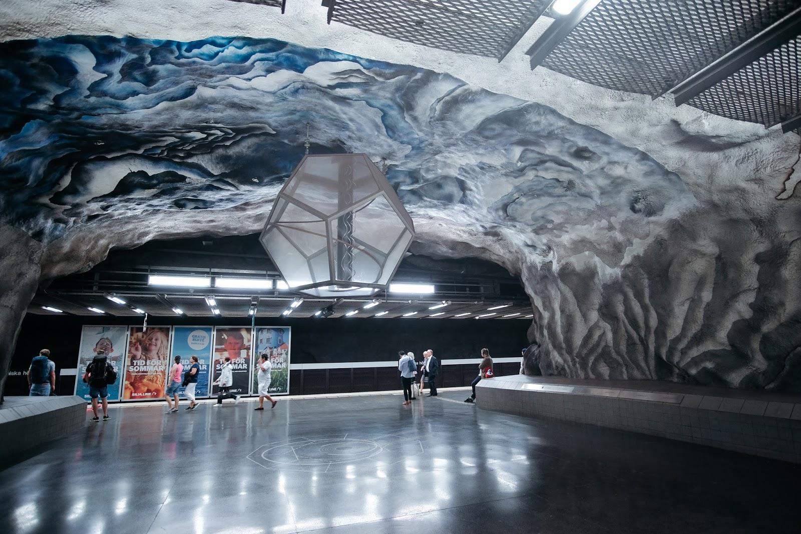 Tekniska Hogskolan metro station