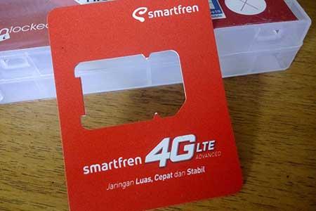 Upgrade 4G LTE Smartfren