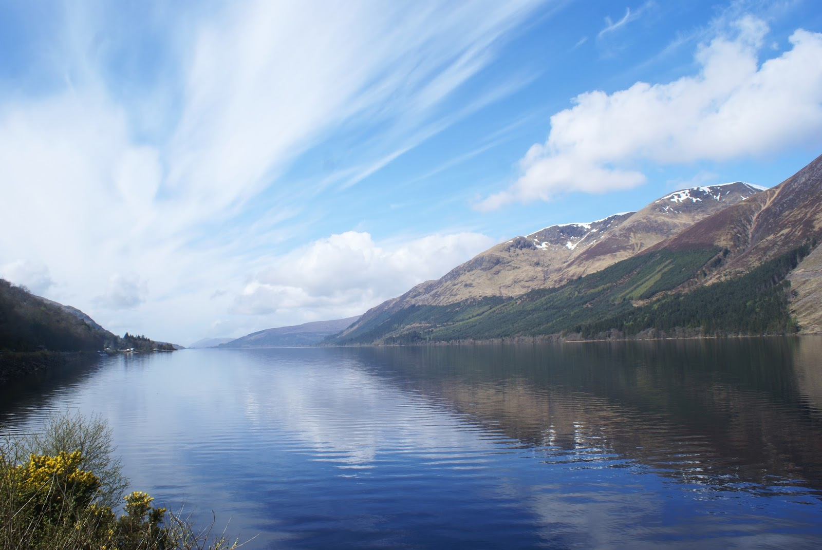 loch lochy scotland uk road trip travel united kingdom