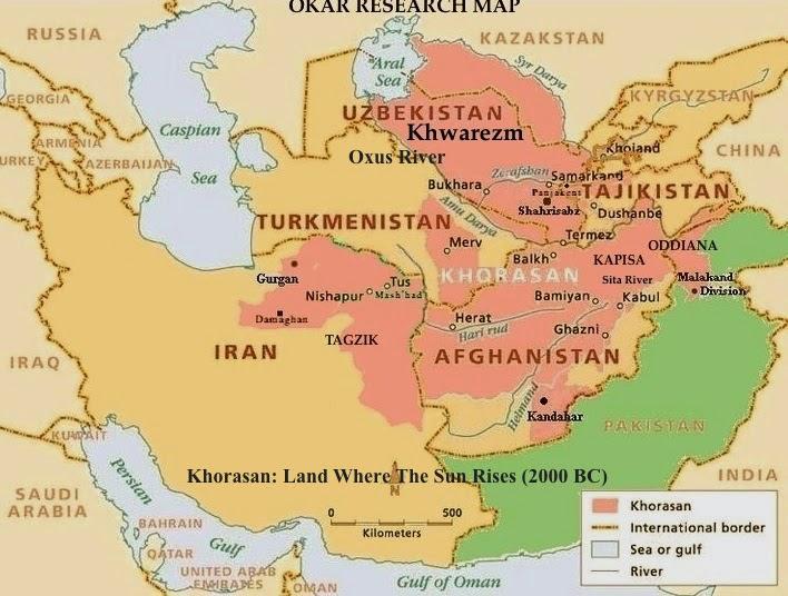Okar Research: The Kala (Fortress/Castles) of Ancient Khorasan (500 BC)
