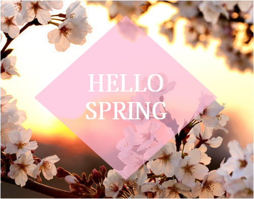 Fashion, Beauty & Life!: Welcome Spring