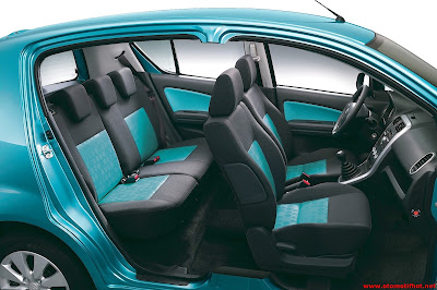 Bagian Dalam Interior Suzuki Splash
