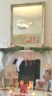 pamper hamper, candle, pretty, christmassy