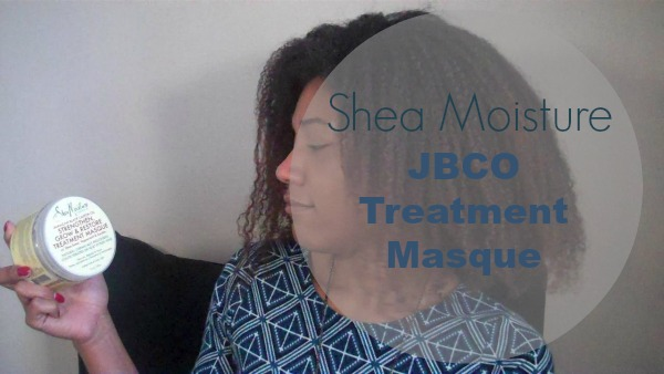What the Kink review of Shea Moisture JBCO Strengthen Grow & Restore Treatment Masque and Leave-In